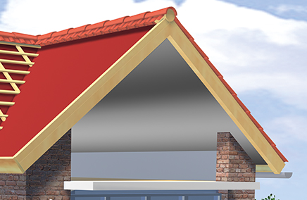 Interior roofing systems