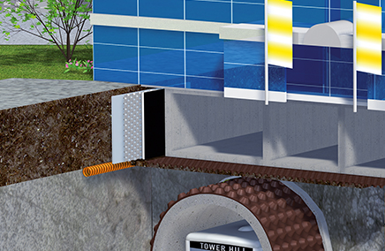 Waterproofing and drainage system