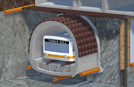 Tunnel vault systems