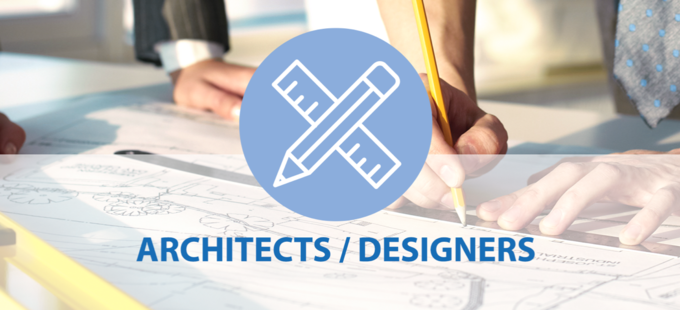 Info for architects and designers