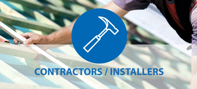 Info for contractors and installers