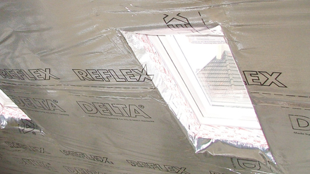 DELTA®-REFLEX PLUS Air and vapour barrier
