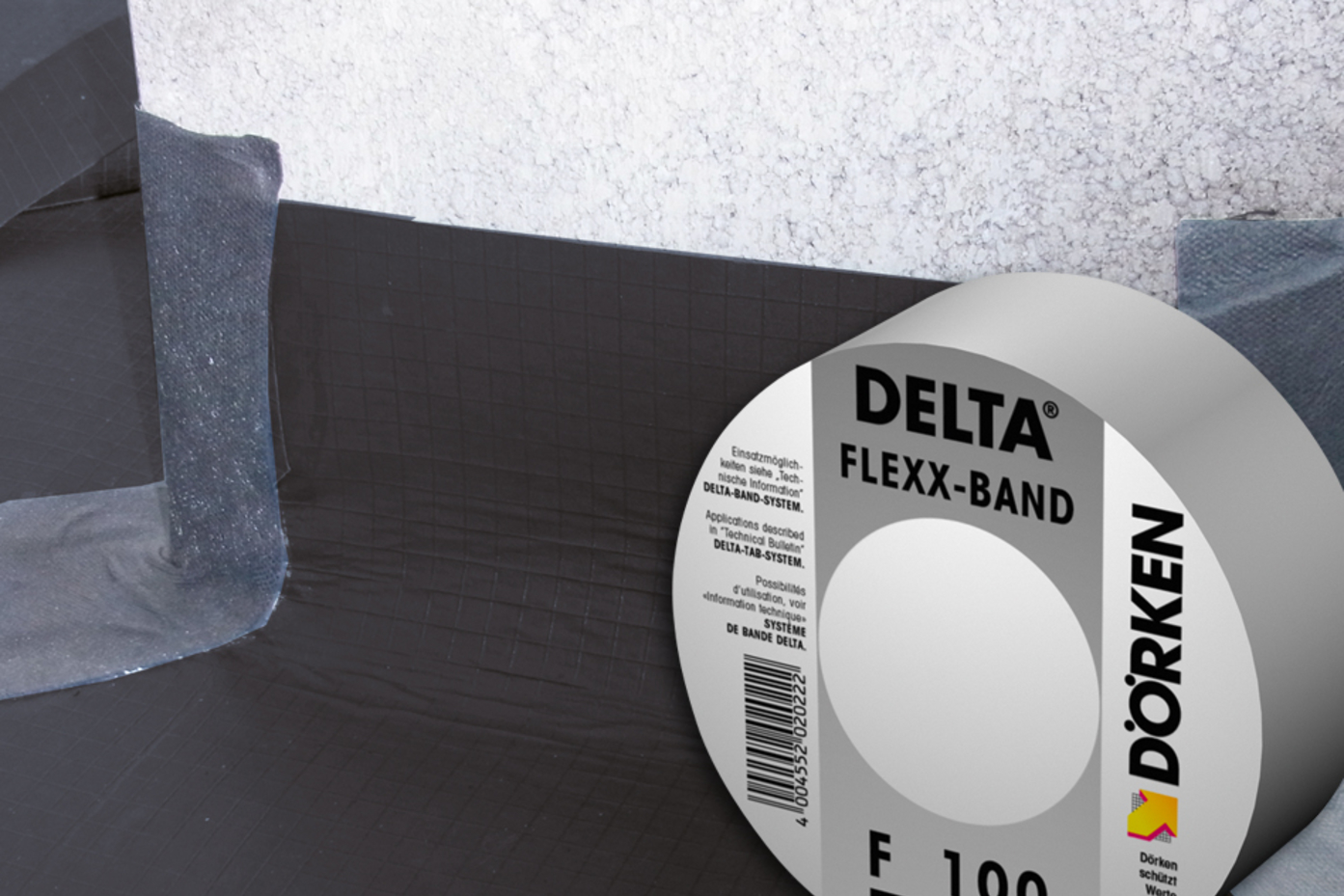 DELTA®-FLEXX BAND roof adhesive tape