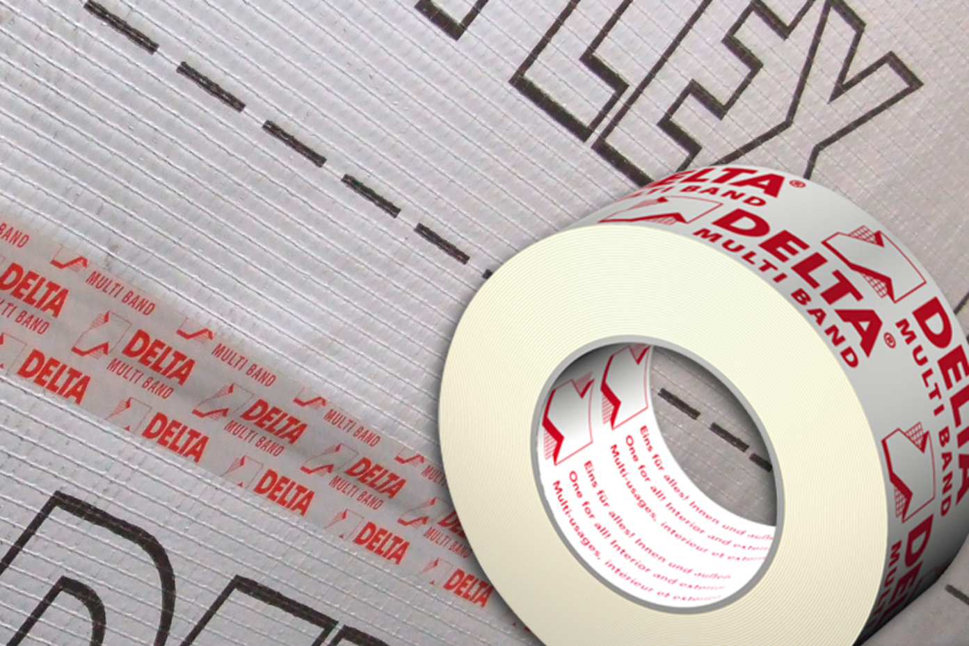 DELTA®-MULTI-BAND M60 / M100 adhesive roof tape