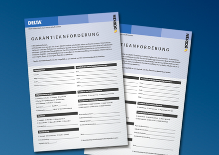 Download Garantieanforderung