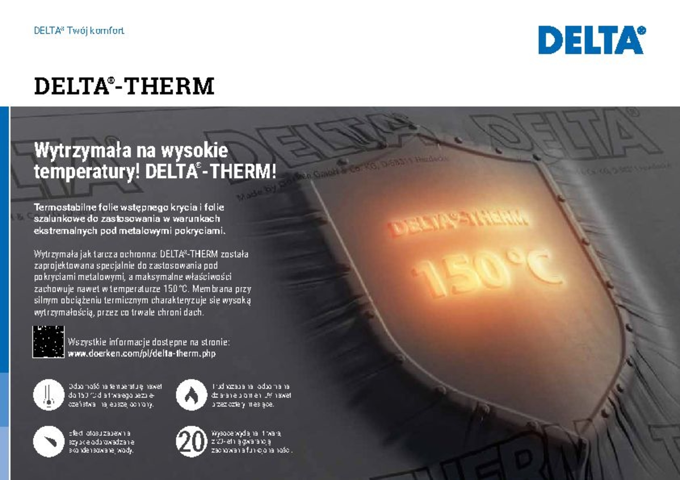 DELTA®-THERM argumentation card