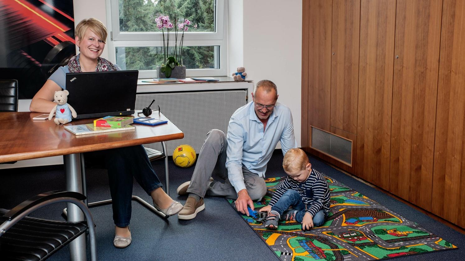 Ihr Vorteil: Vereinigung von Job und Familie
