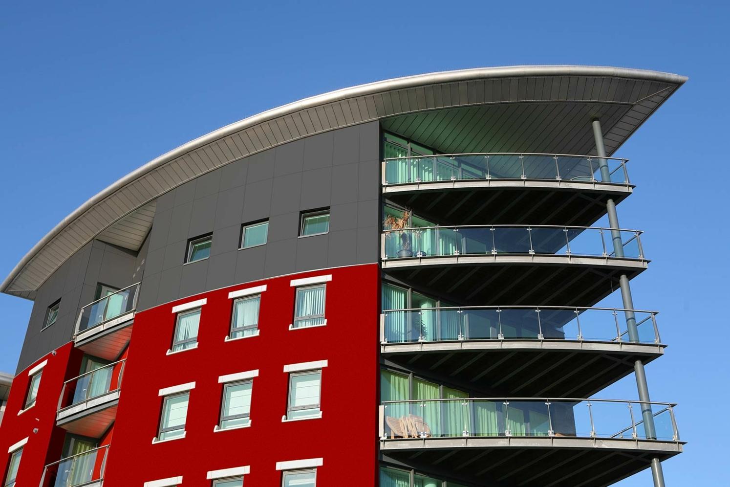 Fassadenbeschichtung der höchsten Beständigkeitsklasse
