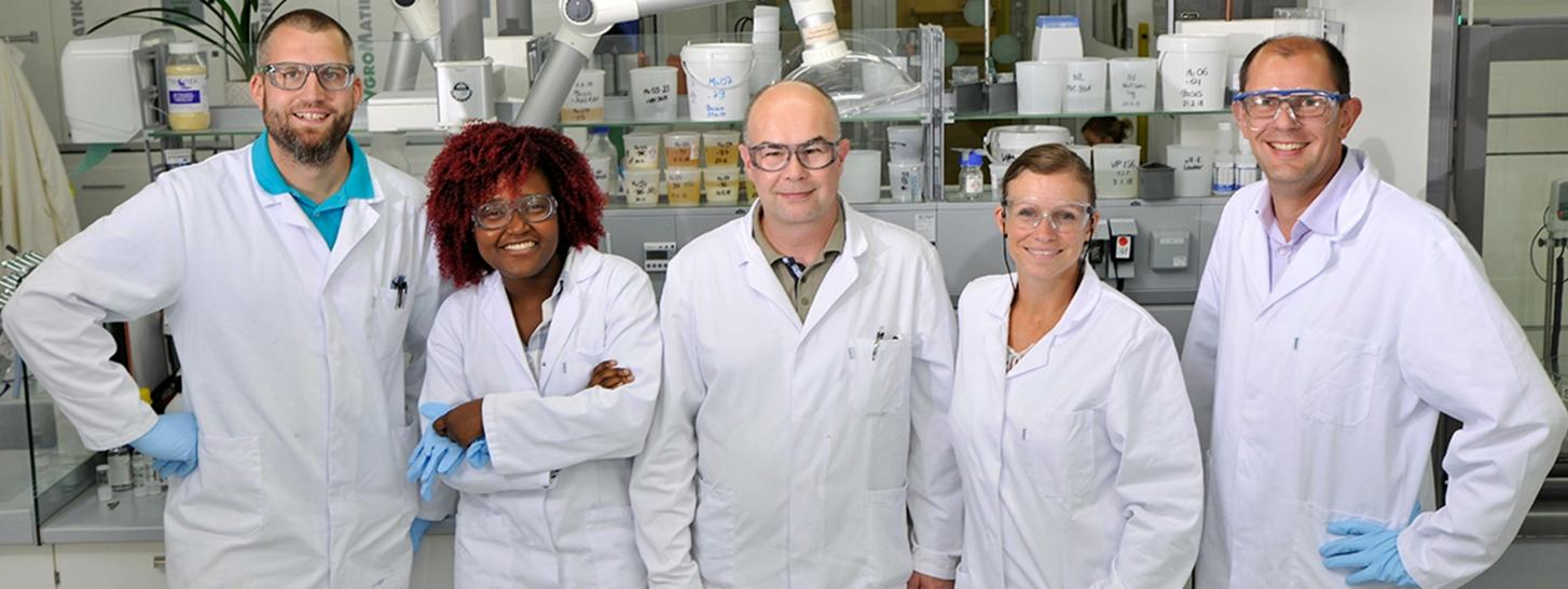 Mitarbeiter in der Forschung