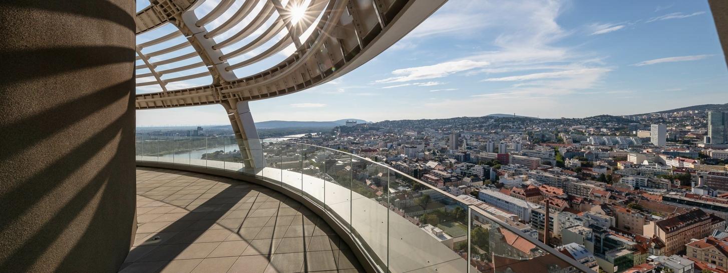 Skypark - Vue sur Bratislava